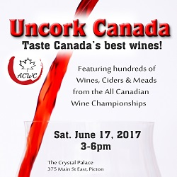 All Canadian Wine Championships Tasting Event