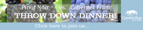 Throwdown: Pinot Noir vs Cabernet Franc