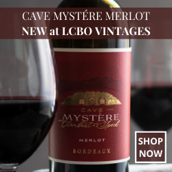 Cave Mystere at the LCBO