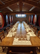 Biondi Table in Barrel Cellar